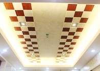 Matchbox Like Small Artistic Ceiling Tiles with Uneven Stereo Surface , 150 x 150