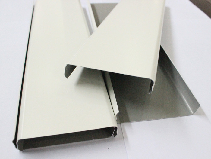 Akzo Nobel Powder Coating Aluminum Strip Ceiling Panel For Architectural